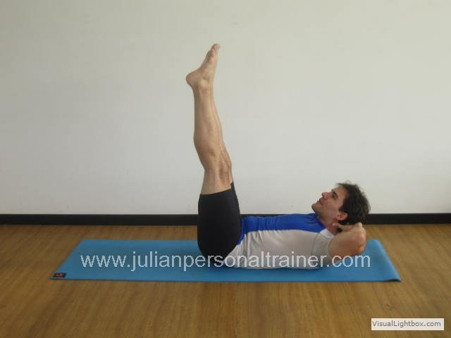 Double Straight Leg Stretch